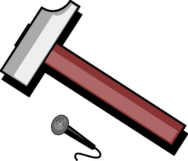 Clip art at clker. Hammer clipart hammer wood