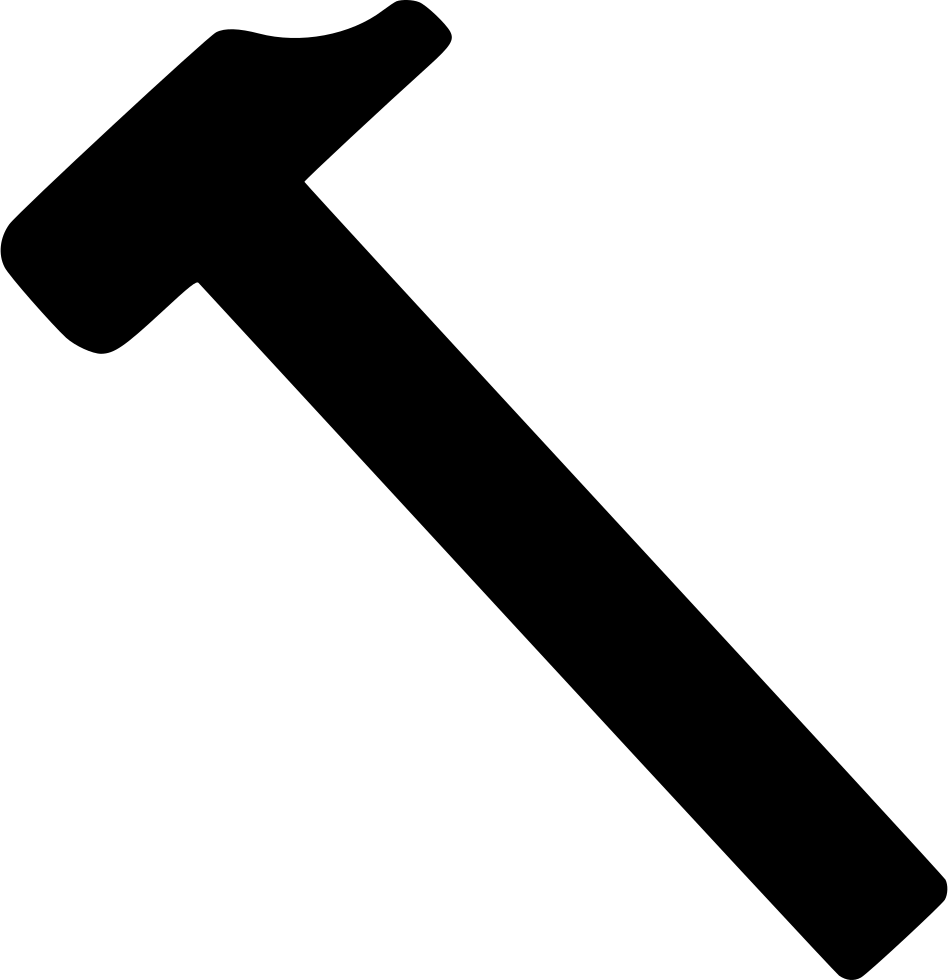 Svg png icon free. Tool clipart claw hammer