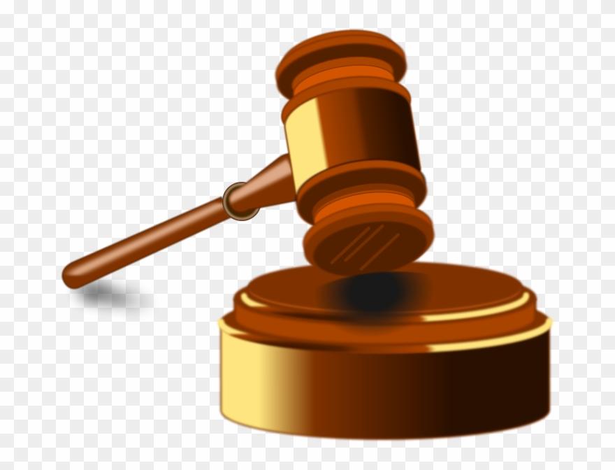 Legal clipart hammer. Judge law logo png
