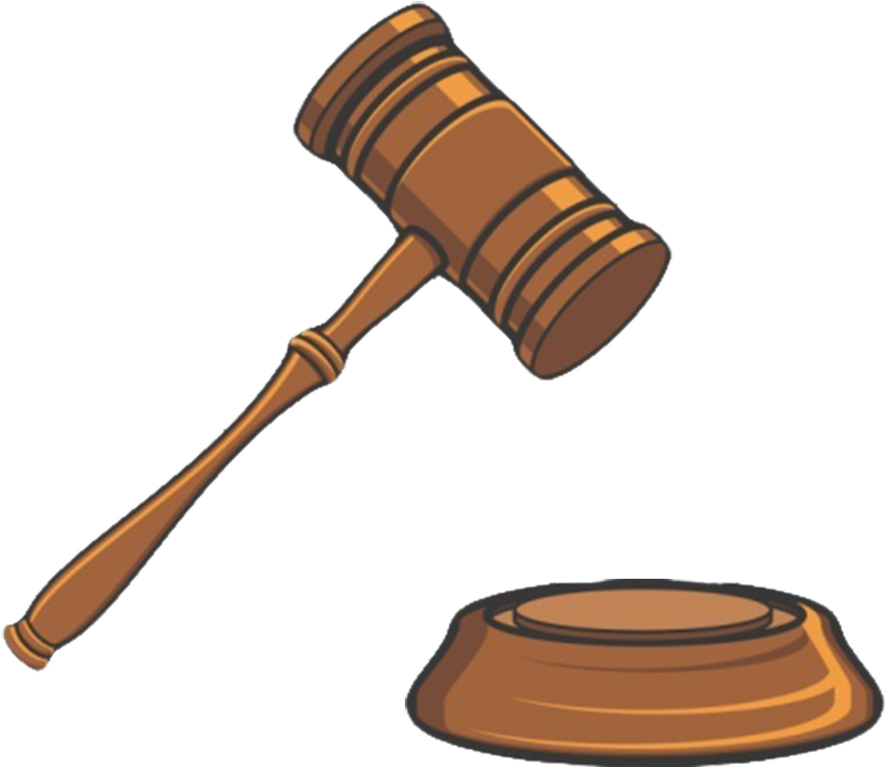 Clipart hammer lawyer. Trial court judge clip