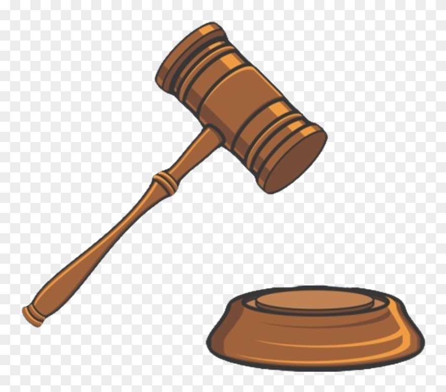 Hammer lawyer png download. Court clipart mallet