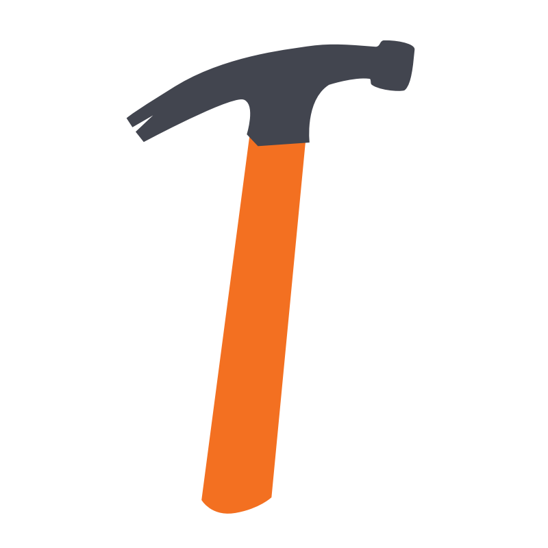 clipart hammer malleability