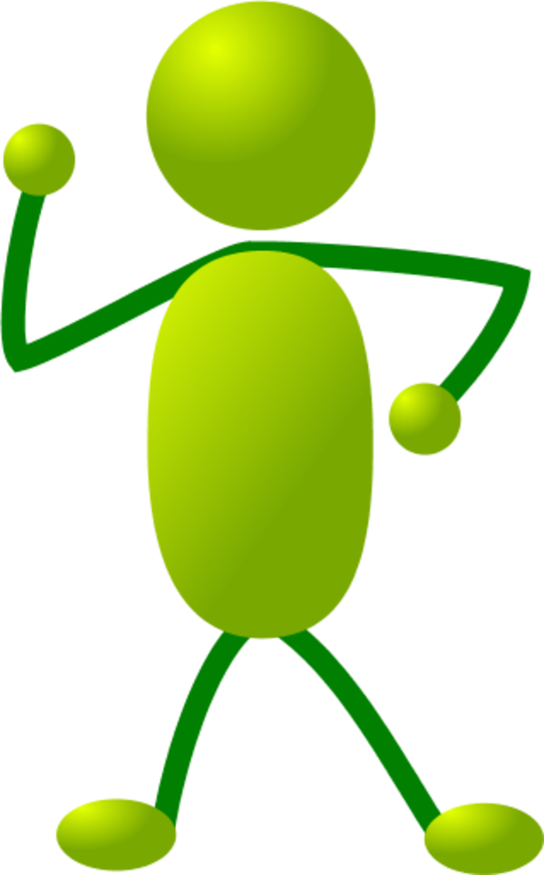 collection of stick. Men clipart green
