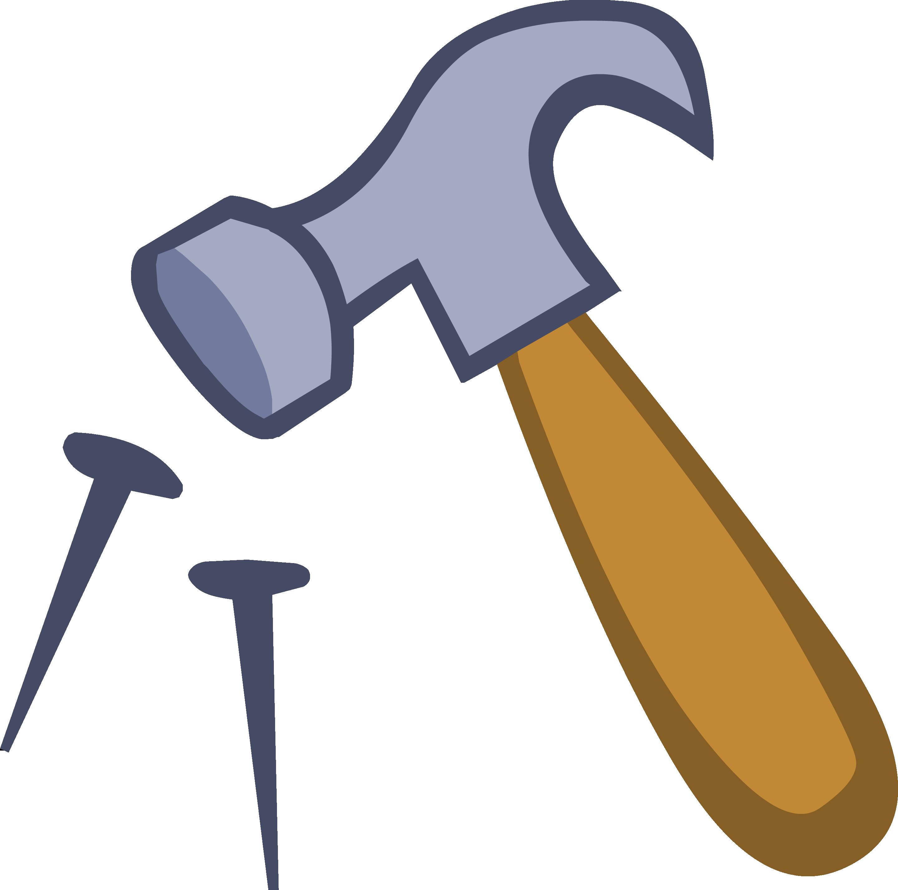 Hammer clipart martillo. The dokken family