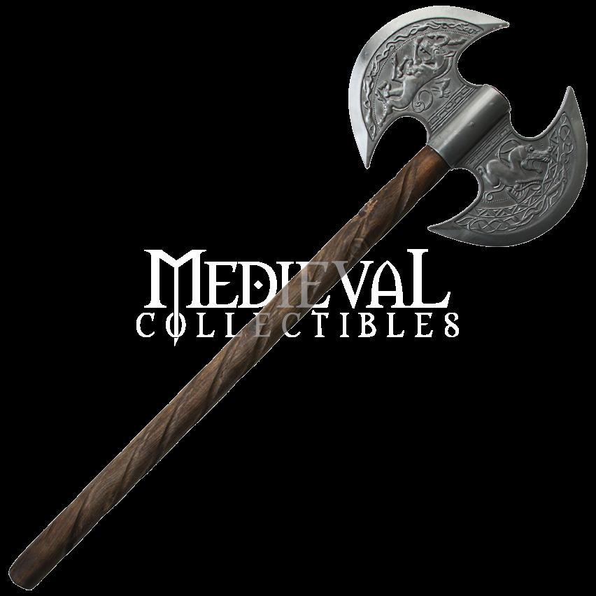 Ornate battle axe pinterest. Hammer clipart medieval