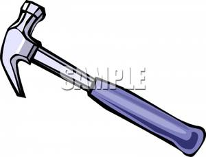Clipart hammer metal. A royalty free picture