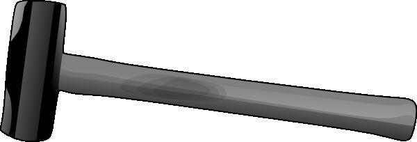 Clip art at clker. Clipart hammer metal