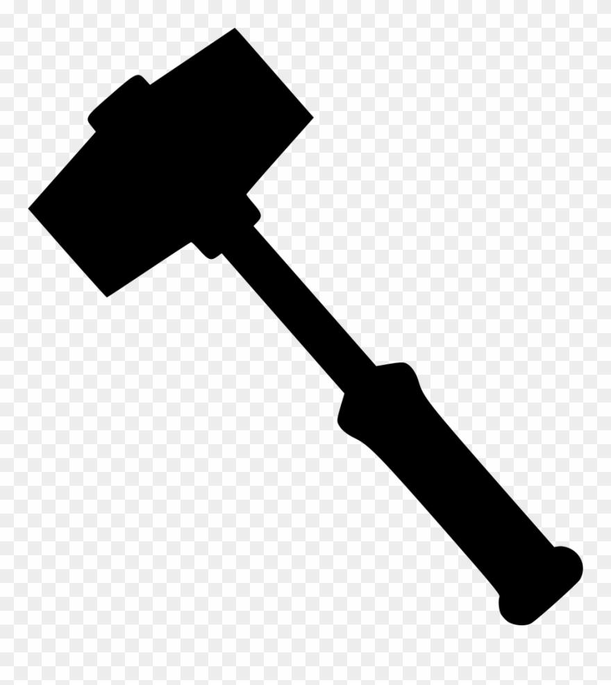 Clipart hammer metal. Svg png sledgehammer icon
