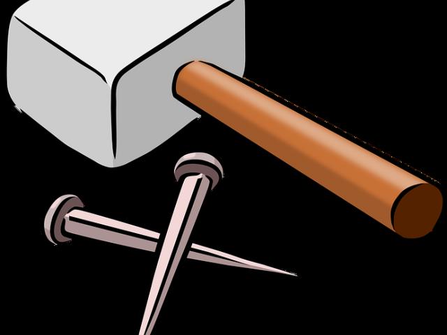 nail huge freebie. Clipart hammer metal