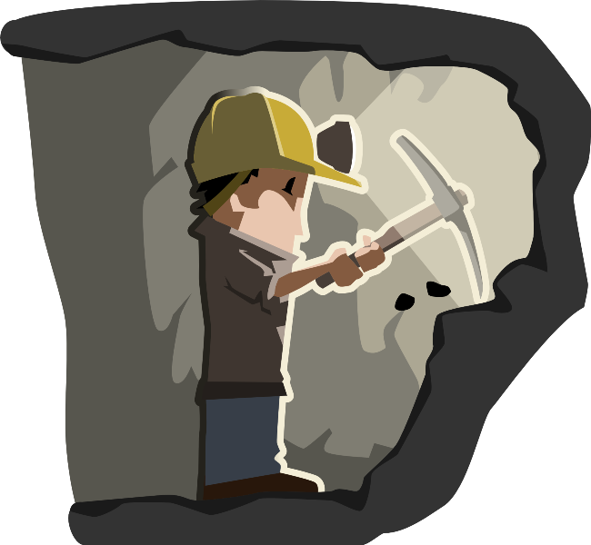 coal clipart iron ore