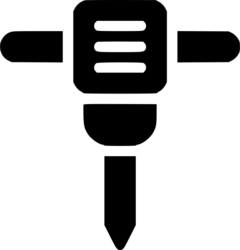 Clipart hammer mining. Jack svg png icon