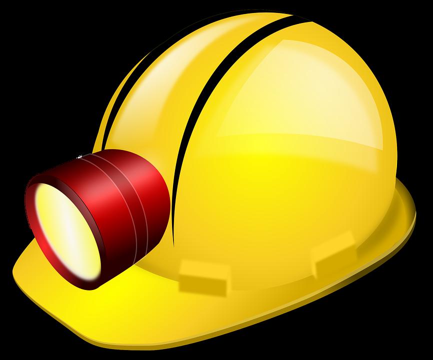 Gold mine helmet old. Clipart hammer mining