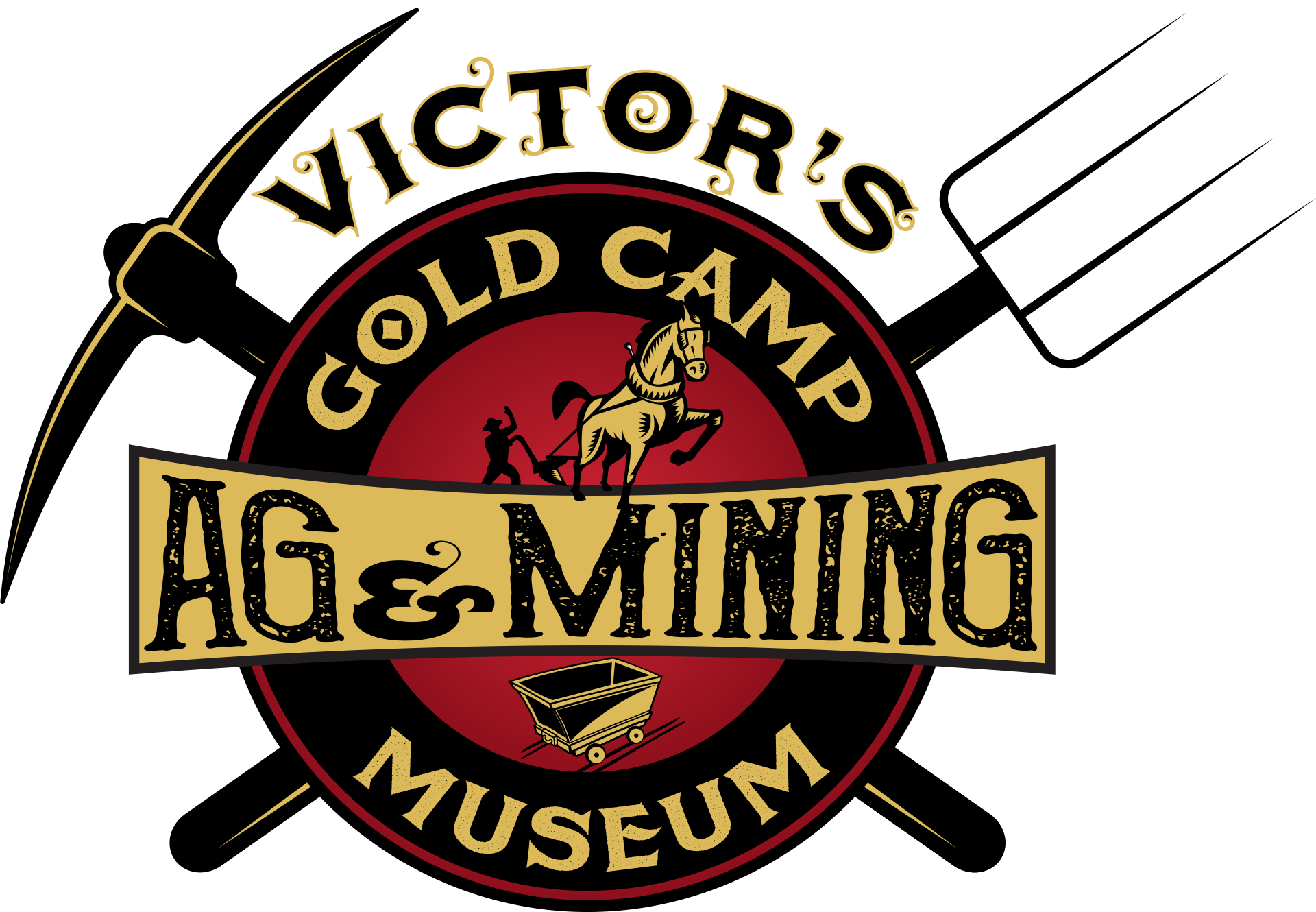 Victor s gold camp. Clipart hammer mining