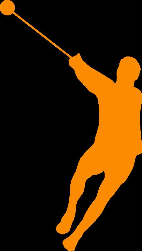 clipart hammer orange