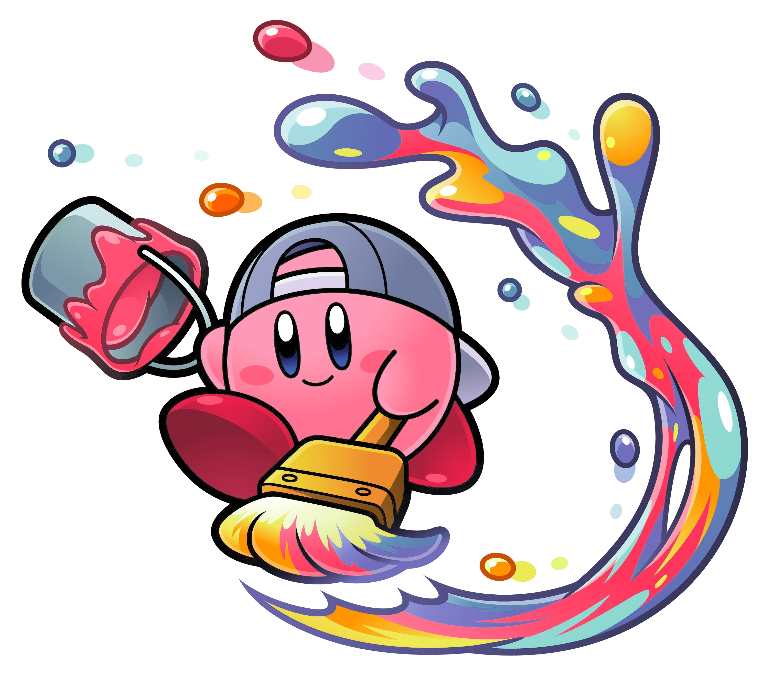 Paint kirby wiki fandom. Clipart hammer paintbrush