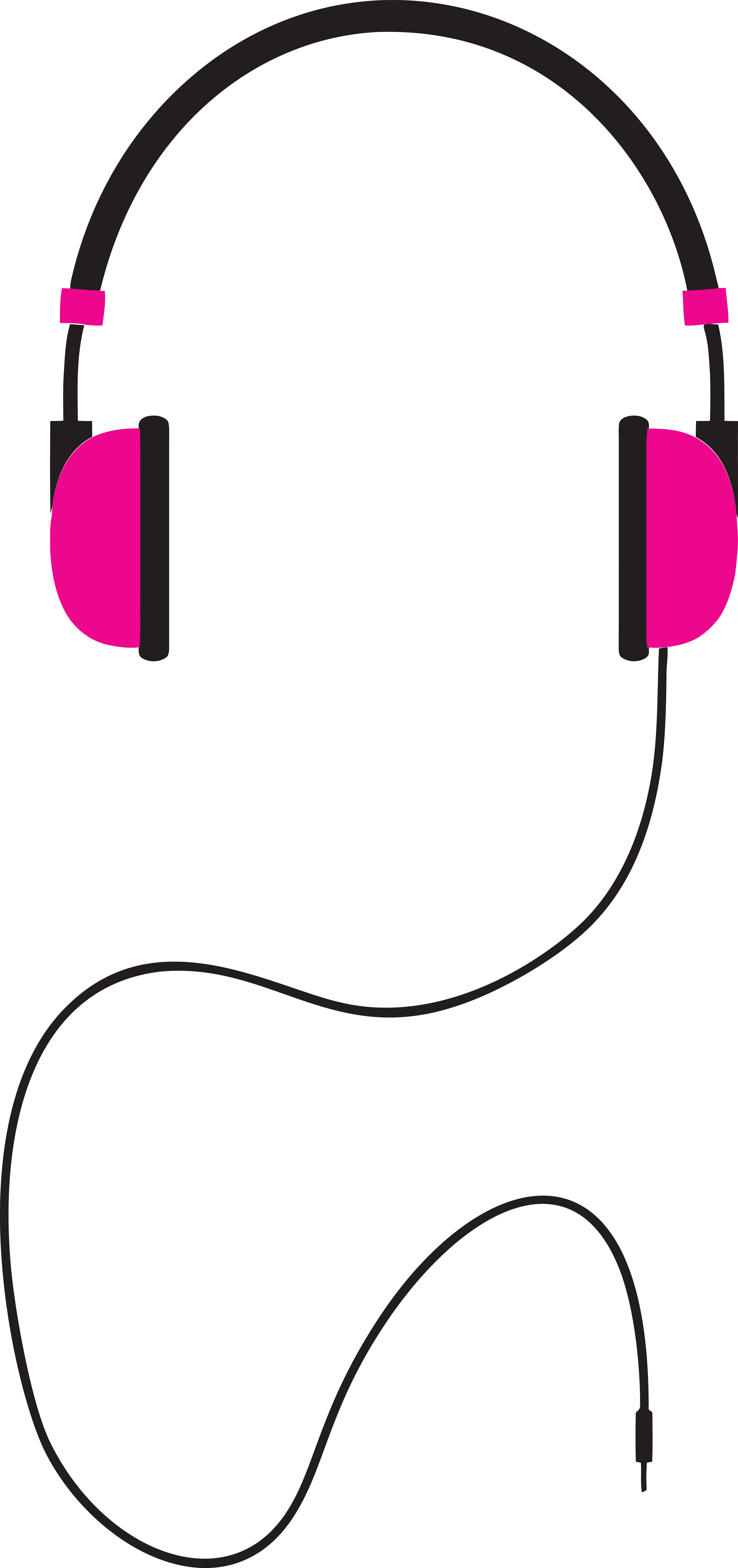 collection of headphone. Clipart hammer pink