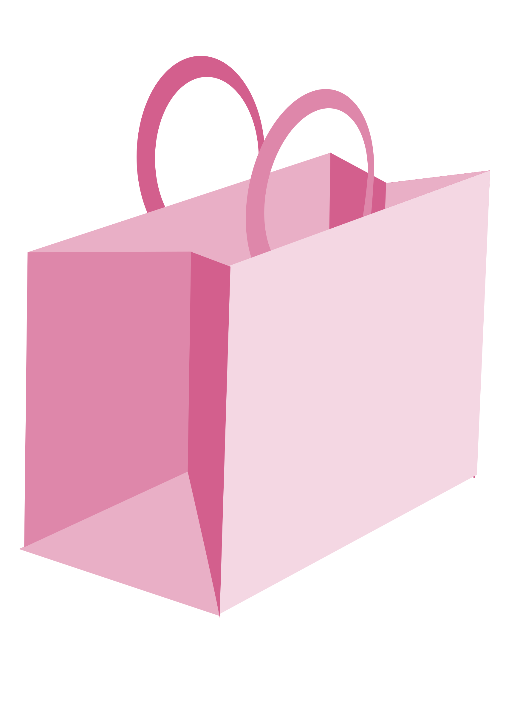 collection of shopping. Clipart hammer pink