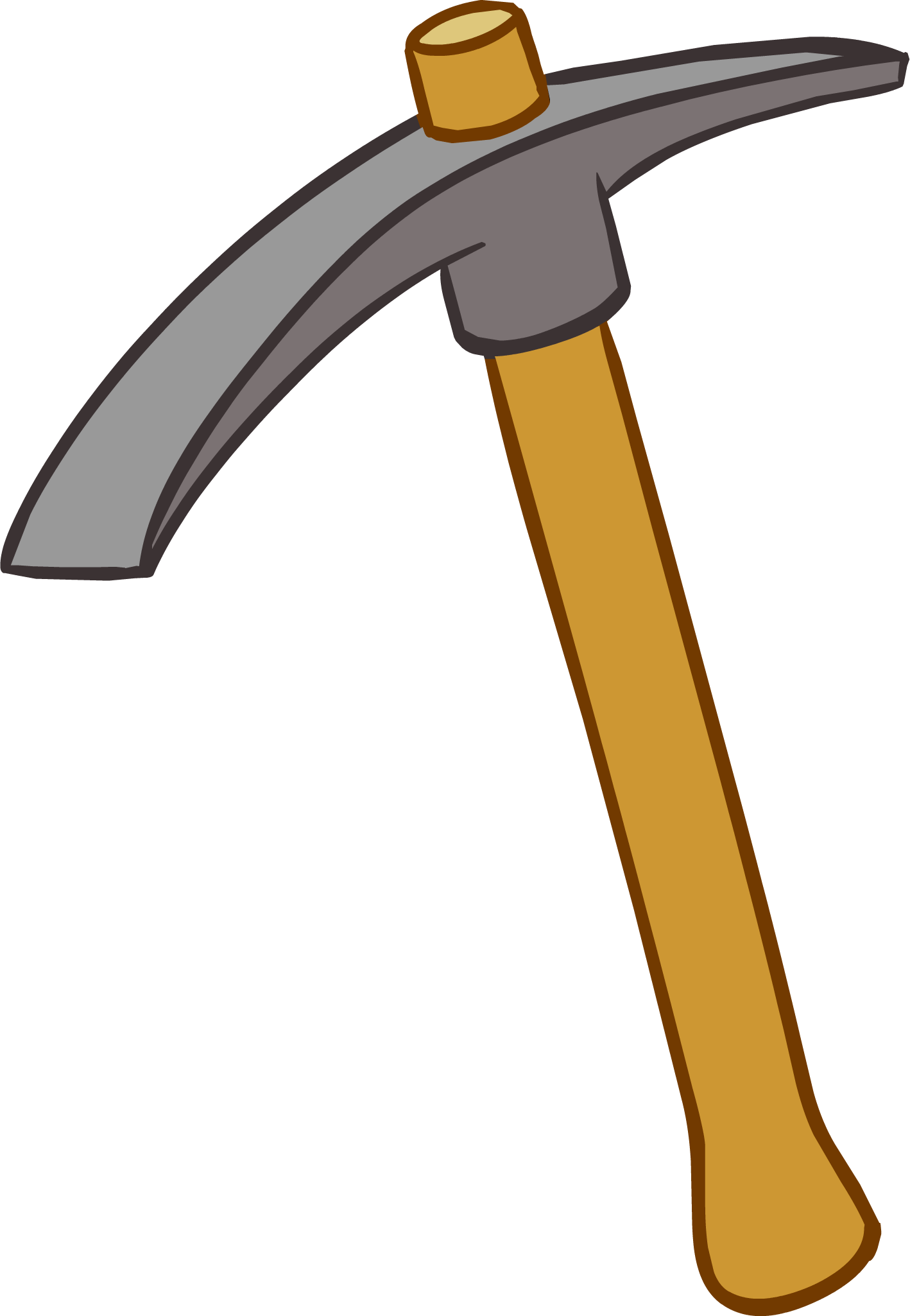 Clipart hammer rock hammer. Image pickaxe icon png