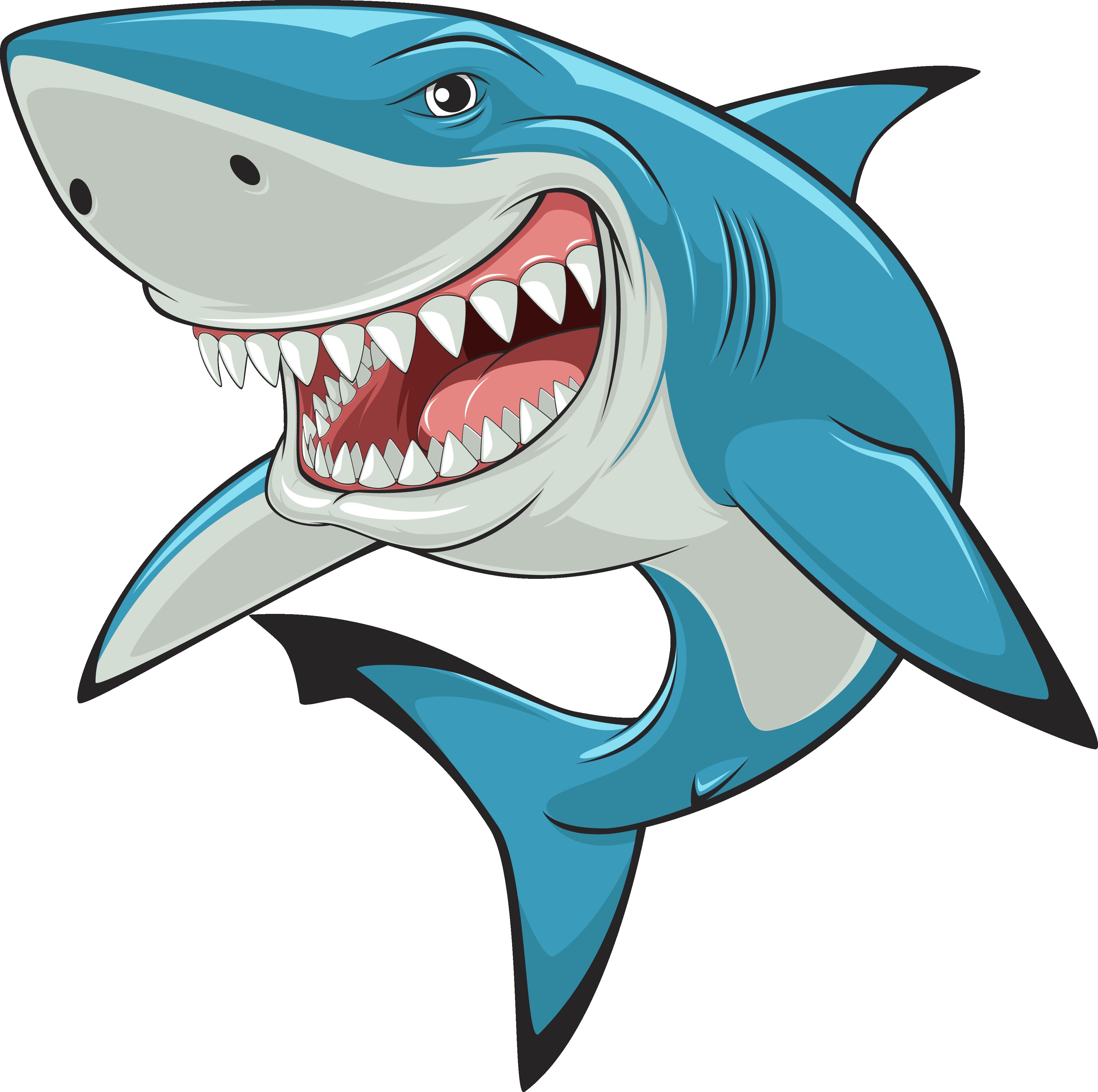 Clipart shark lemon shark. Hammerhead great white clip