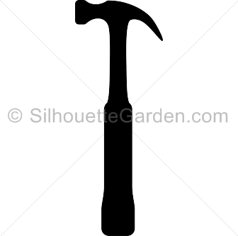 Clipart hammer silhouette. Pin by muse printables