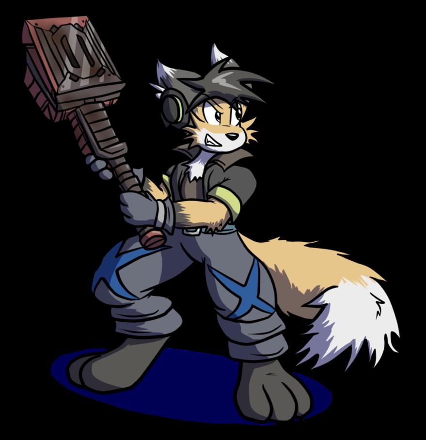 Clipart hammer sketch. Ronin by virmir on