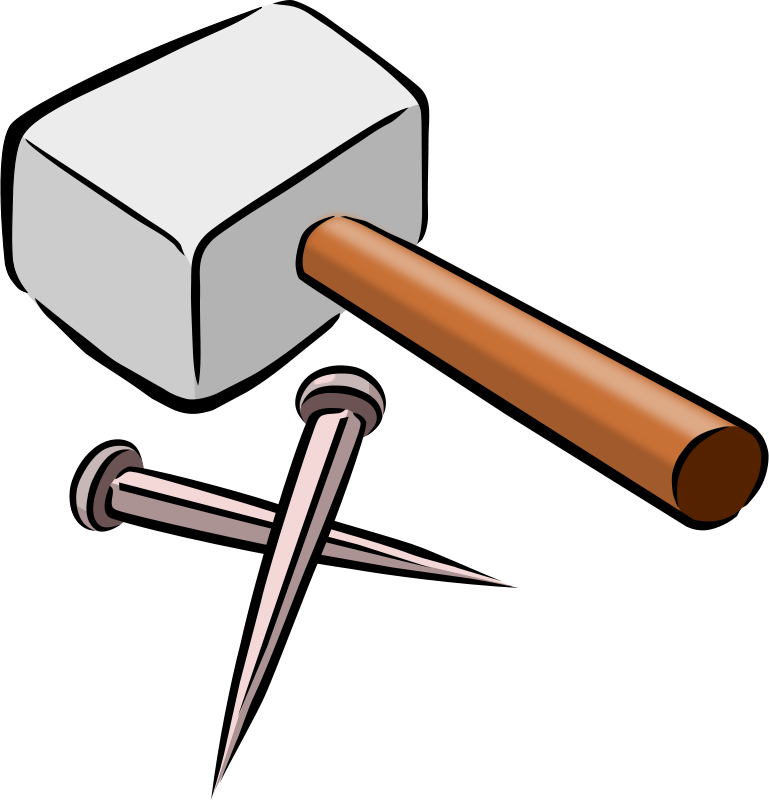 At getdrawings com free. Clipart hammer solid