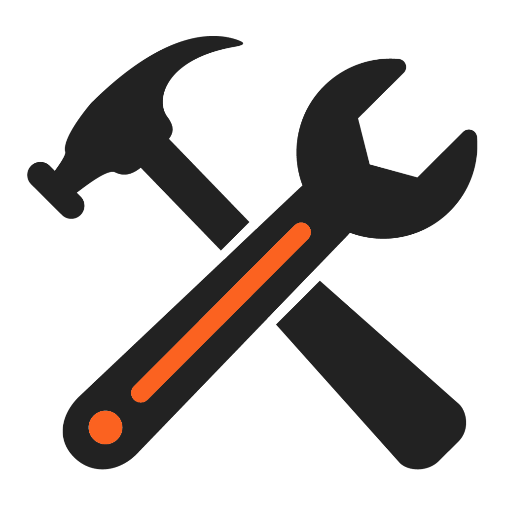 Clipart hammer spanner. Hand tool spanners clip