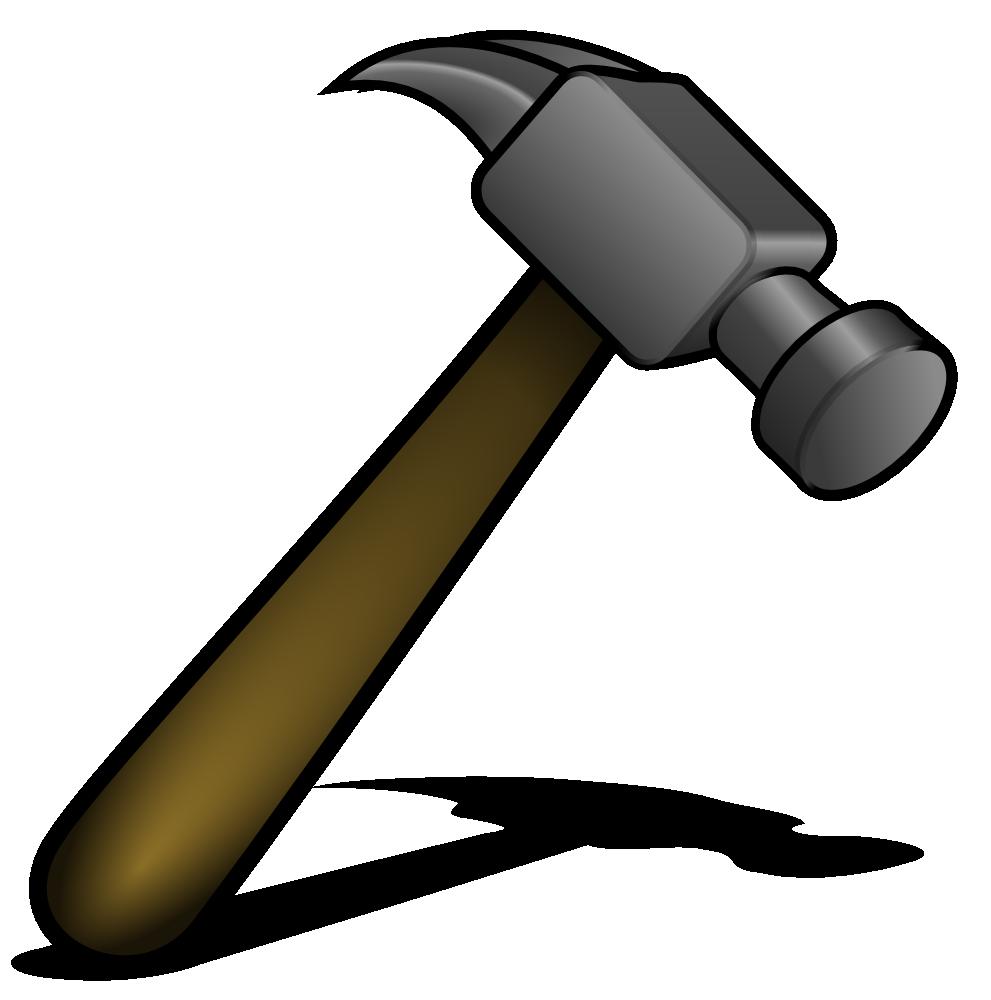 Clipart hammer spanner. Onlinelabels clip art details