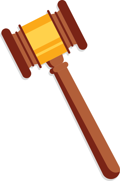 clipart hammer supreme court
