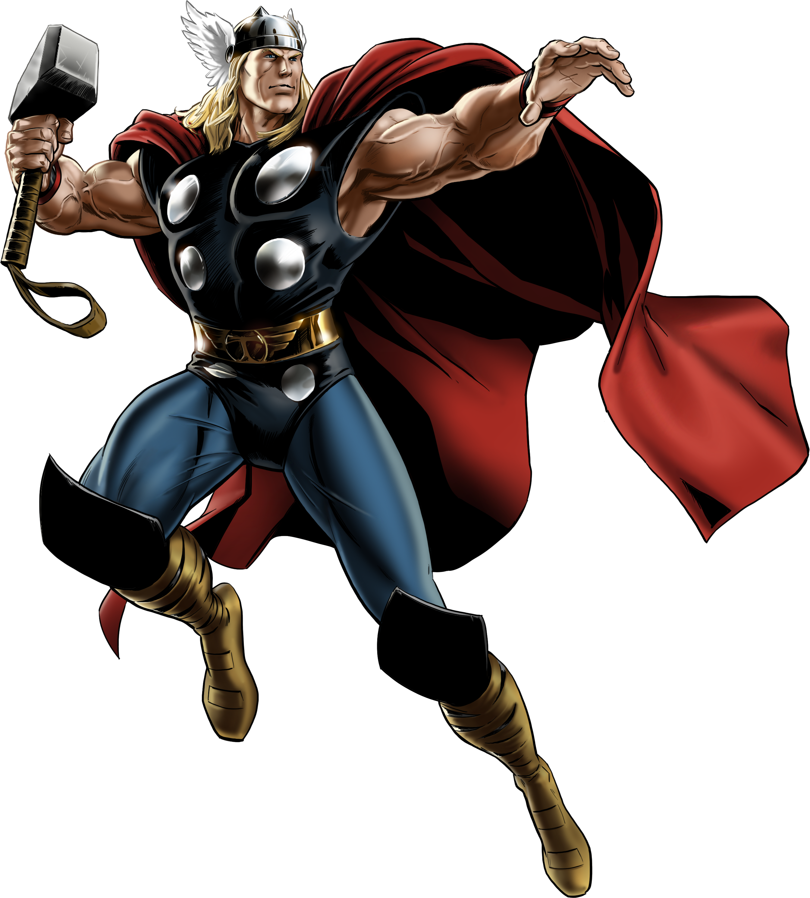Marvel avengers alliance classic. Head clipart thor