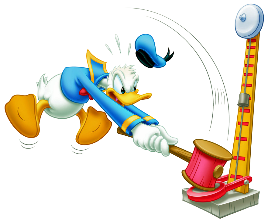 Donald duck mickey mouse. Clipart hammer toy hammer