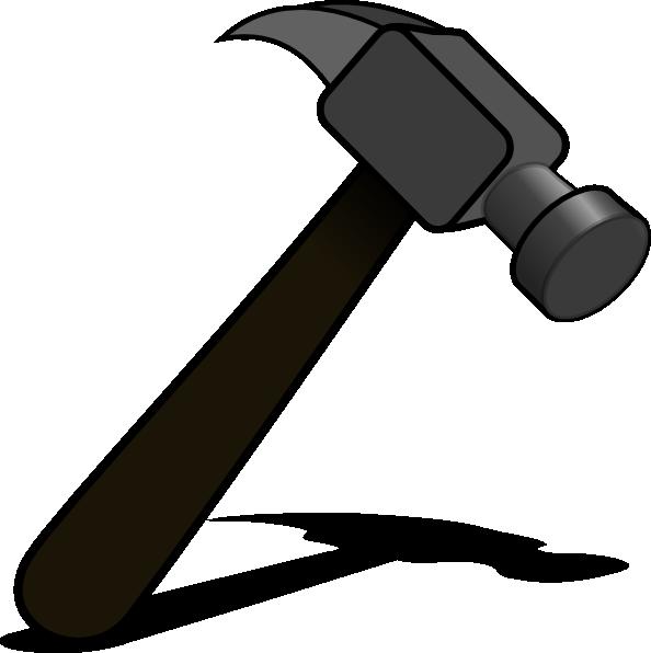 Clip art at clker. Clipart hammer toy hammer