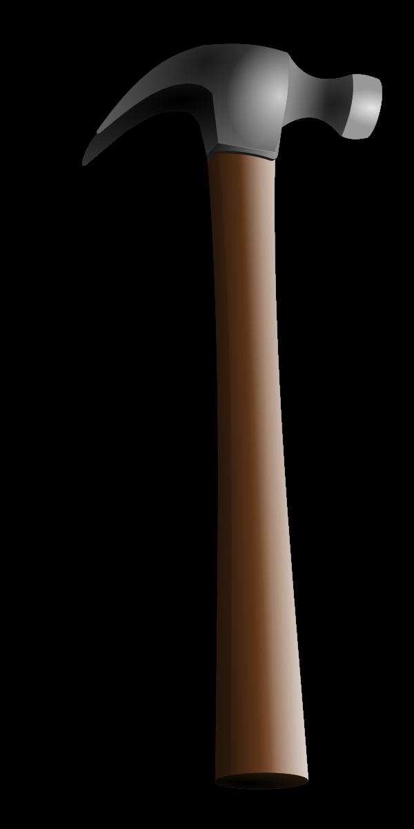 Clipart hammer vector. By hatalar garden image