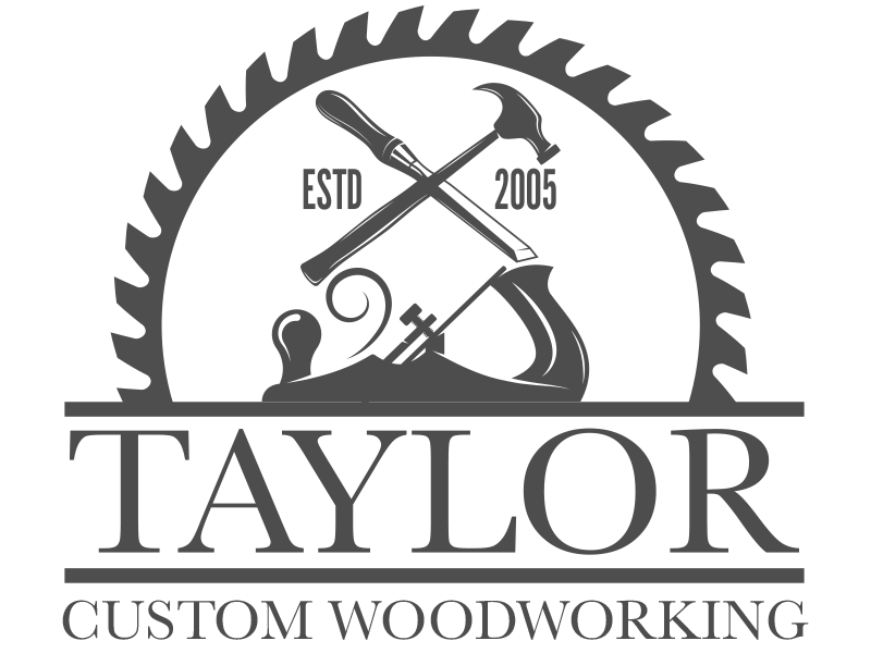 Innovative logo design business. Clipart hammer wood shop