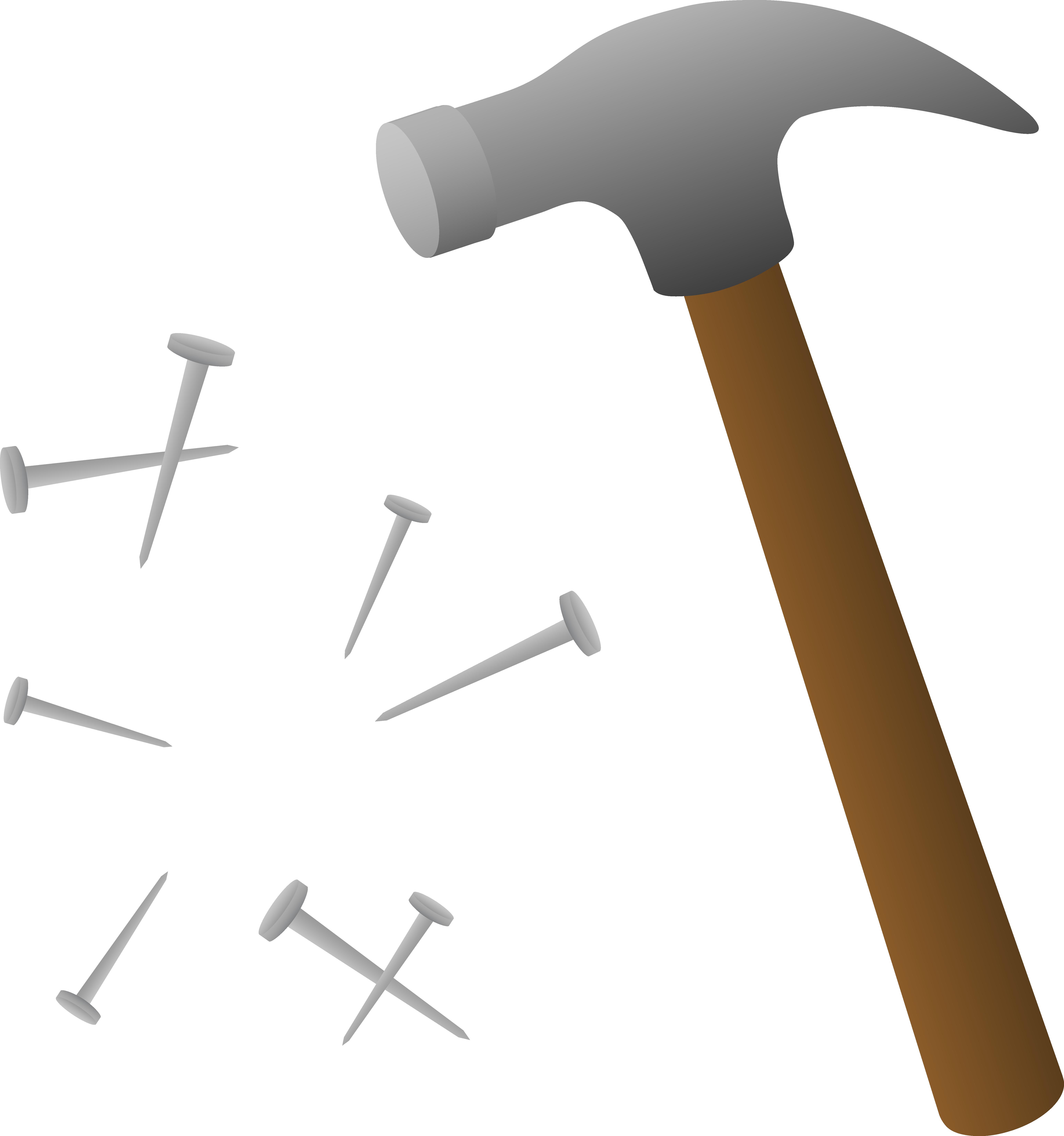Construction tools printables pinterest. Nails clipart wood clipart