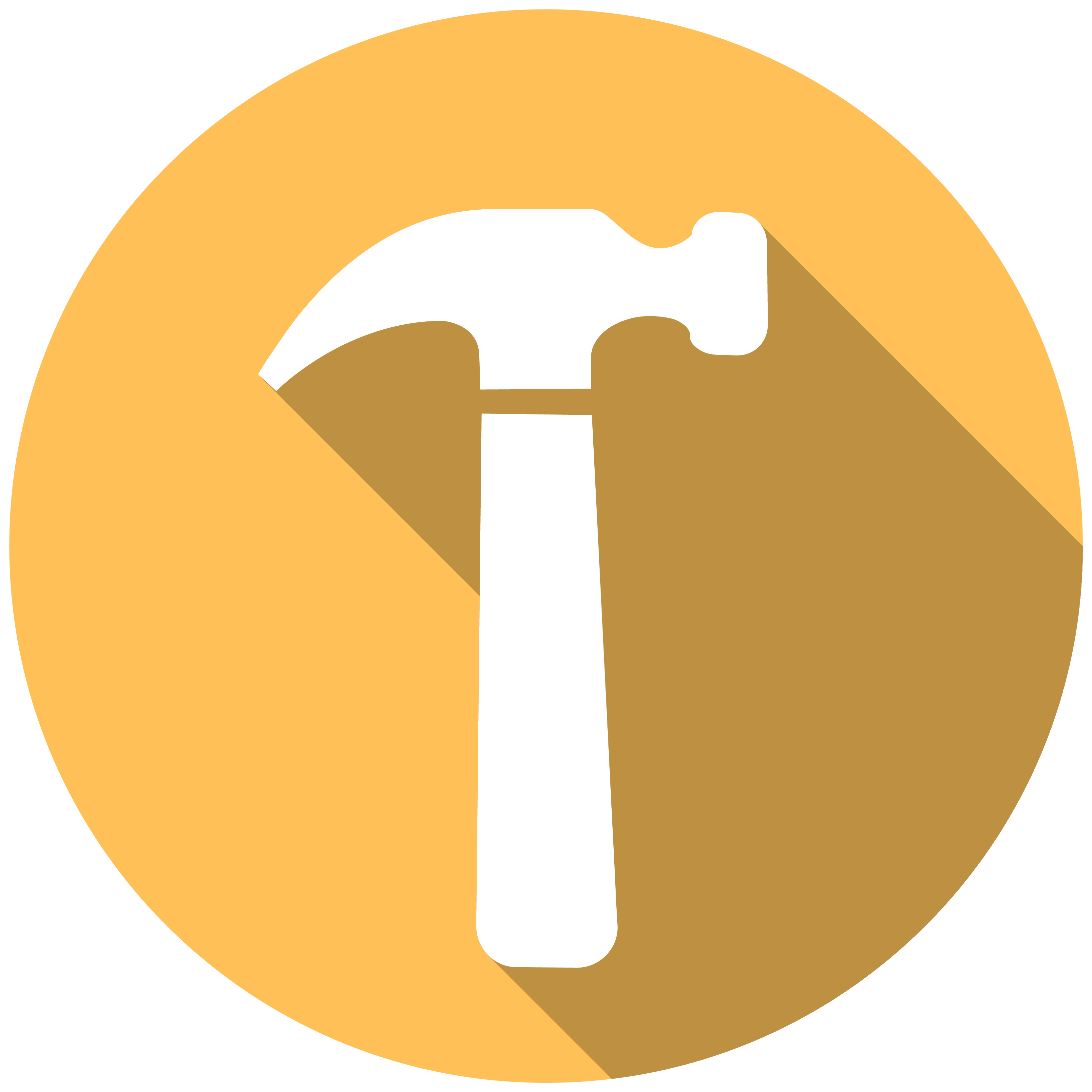 Clipart hammer yellow hammer. Icon housing and residential