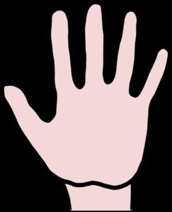 Clipart hand. Open clip art at
