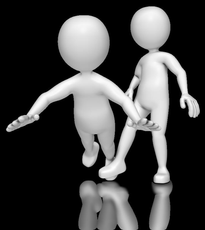 Animation blog clip art. Handshake clipart stick figure