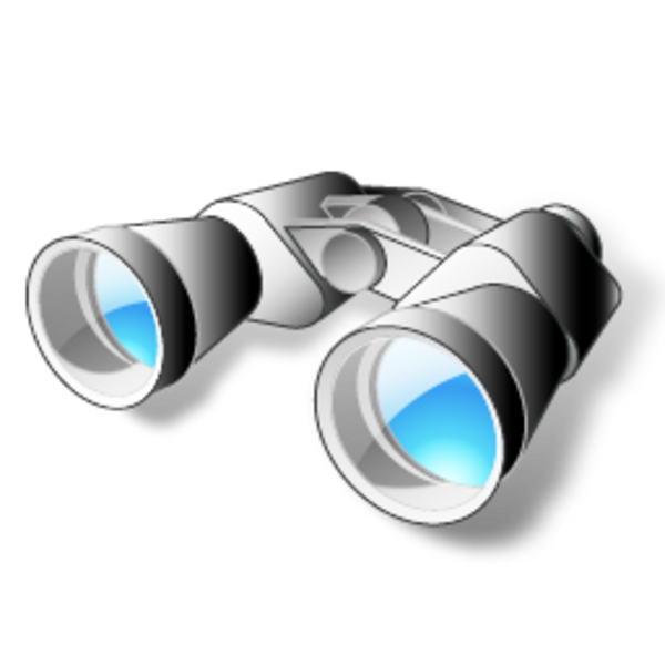 Images of spacehero icons. Hand clipart binoculars