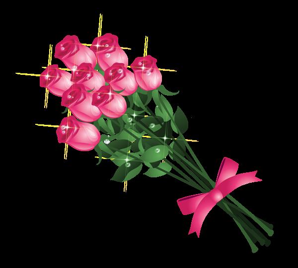 Pinterest transparent pink roses. Clipart rose bucket