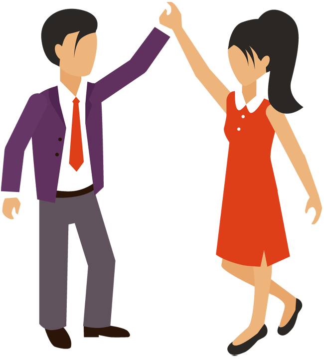 Excited clipart happy man. Hi five free download