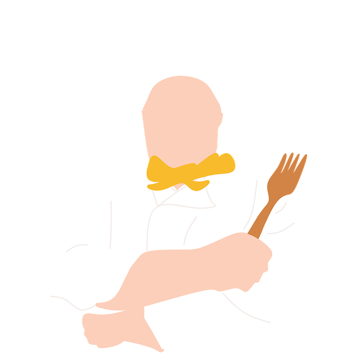 Hand clipart chef. Male png image purepng