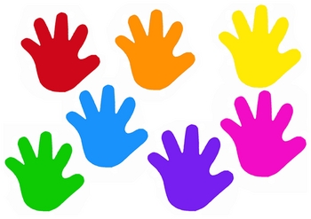 Hand clipart children's. Kid free download best