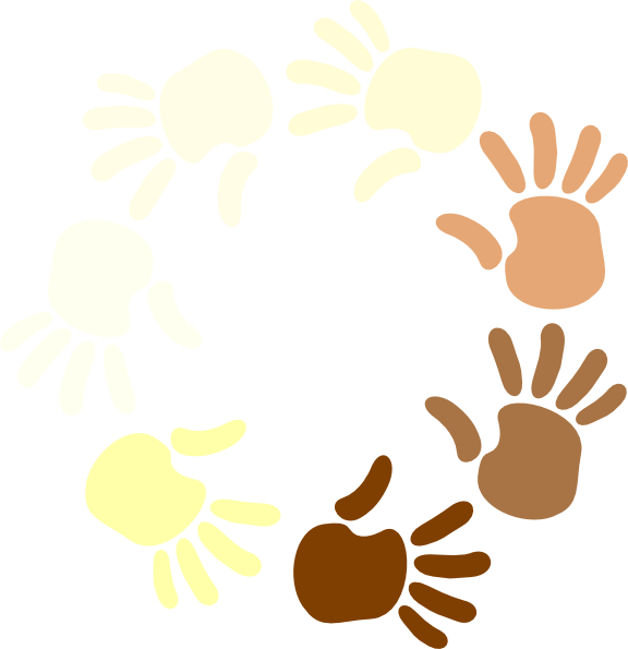 Multicultural at getdrawings com. Clipart hand circle