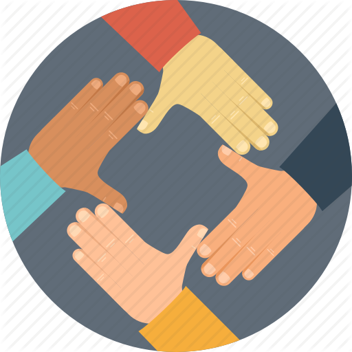 Handshake clipart collaboration. Icon hand