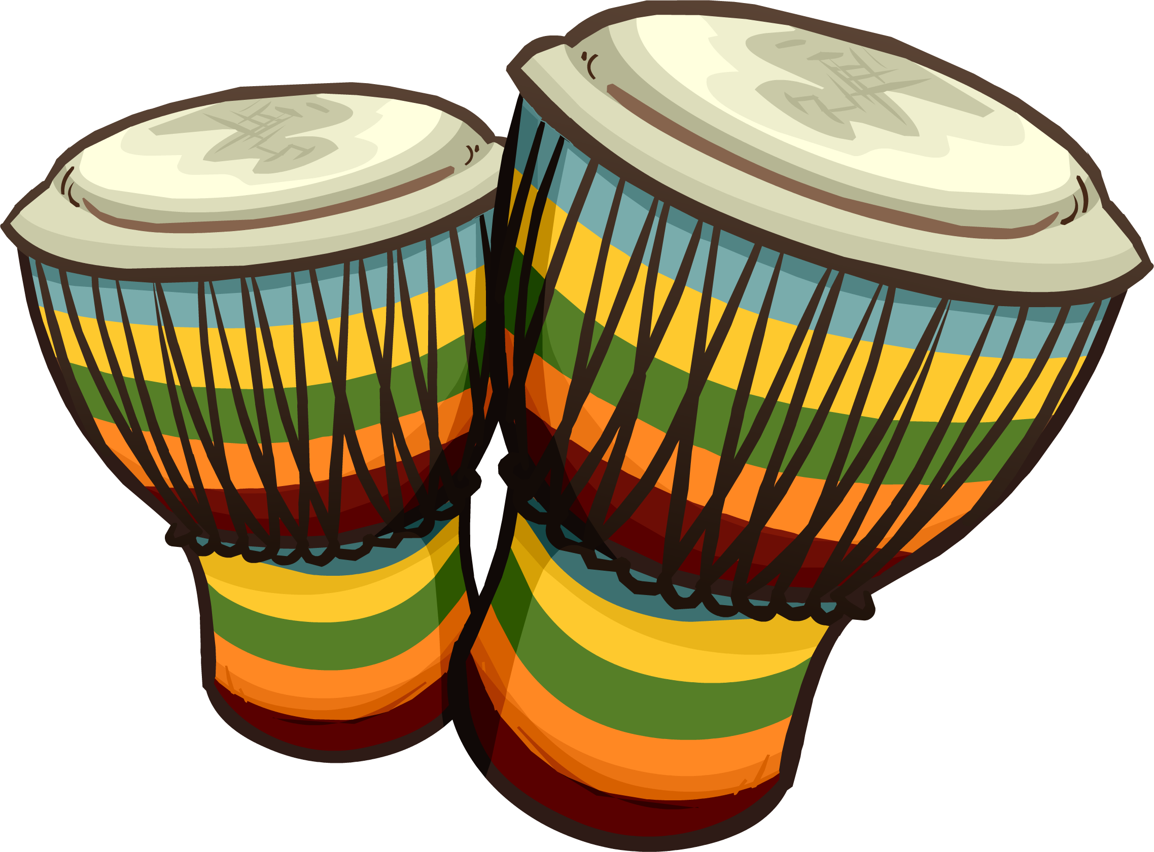 Clipart hand drumming. Conga drums club penguin