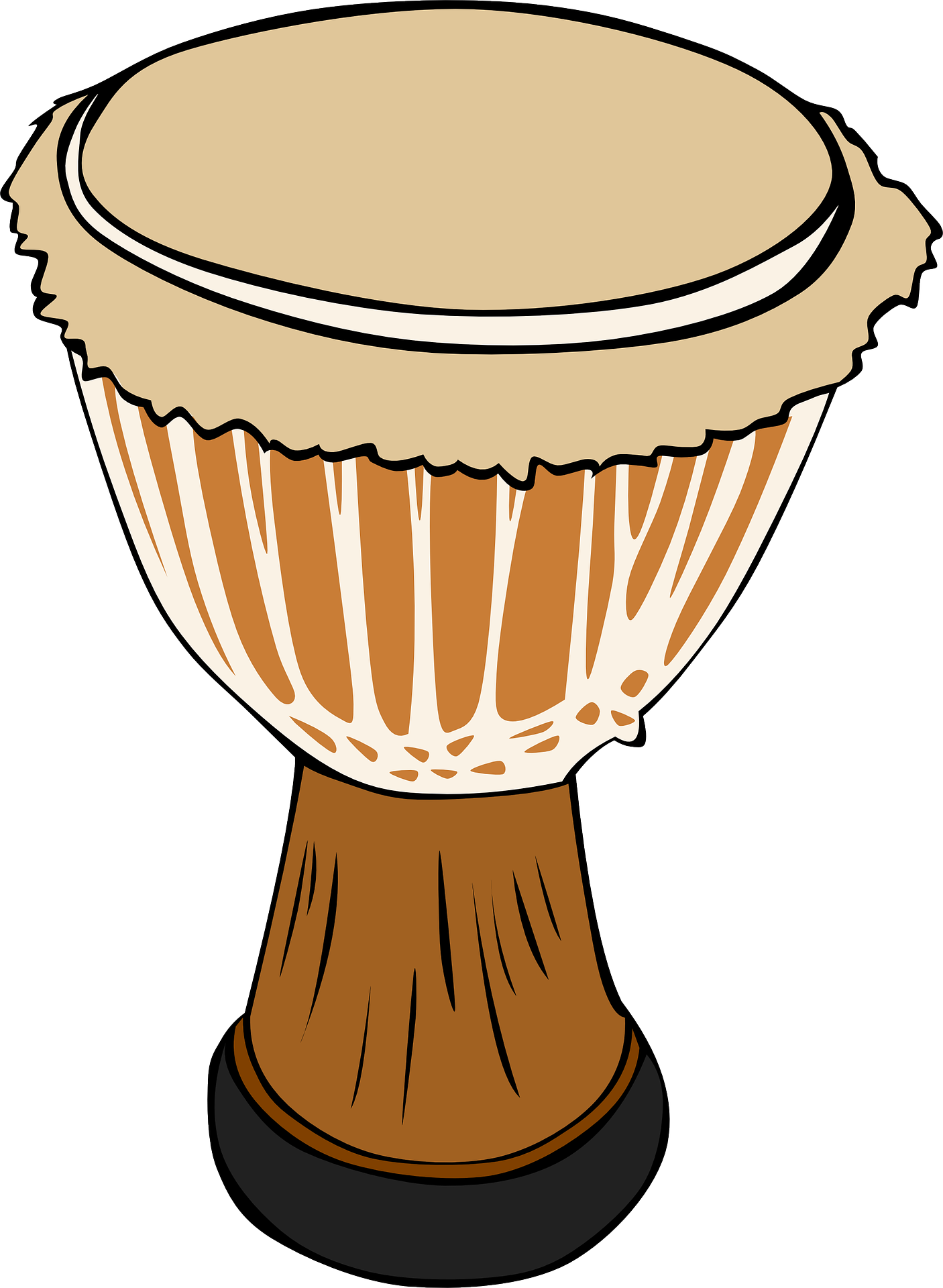 Clipart hand drumming. Percussion drums musical instruments