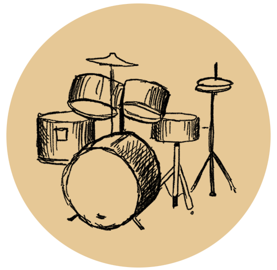 Clipart hand drumming. Drum dawnless studios drums