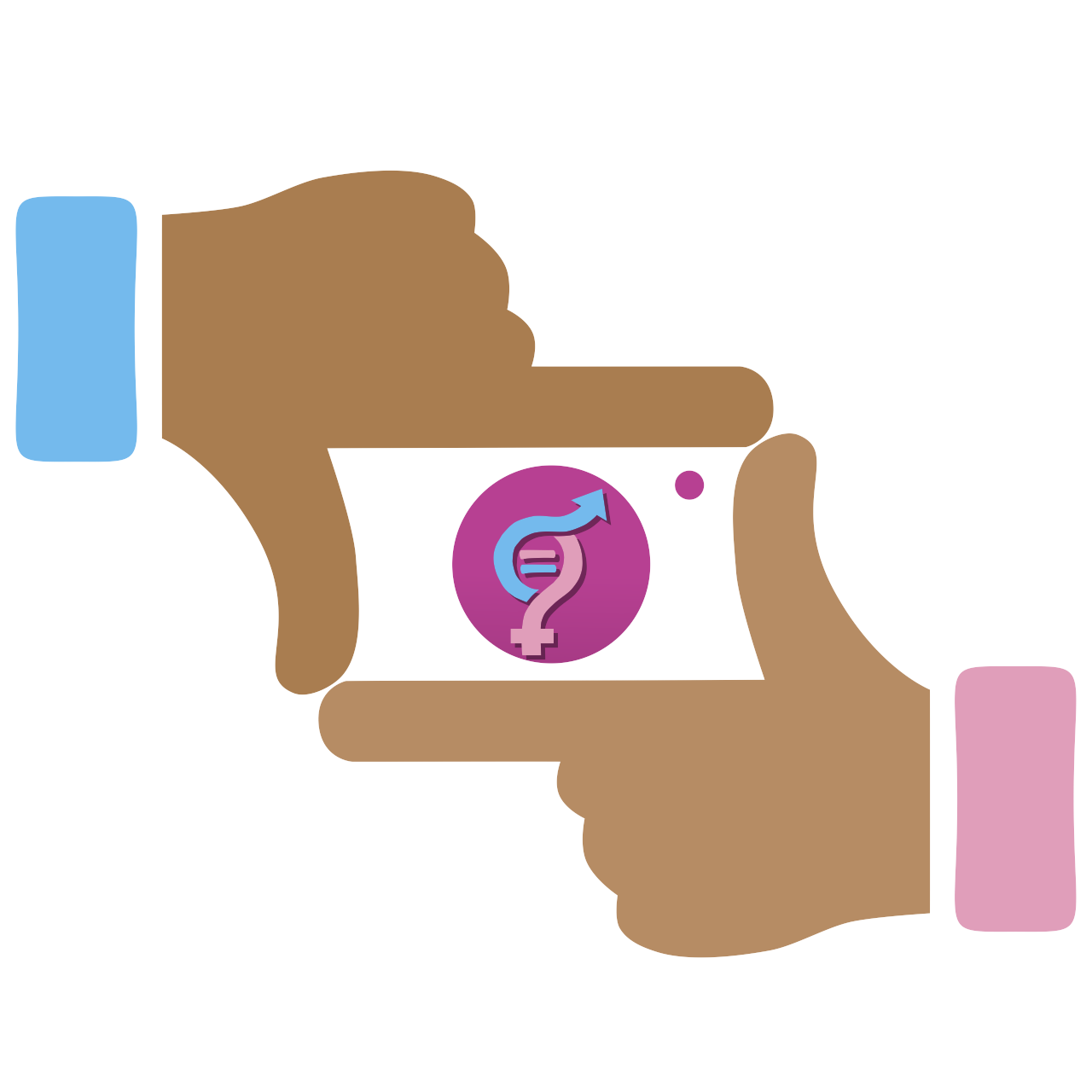 collection of gender. Hand clipart equality