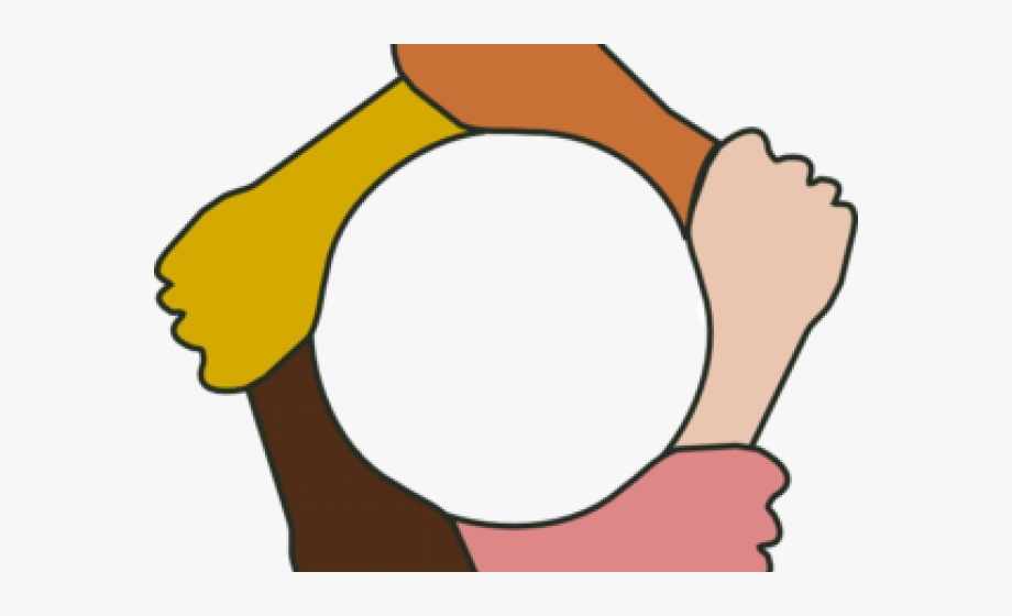 Hands clipart equality. Hand helping circle png